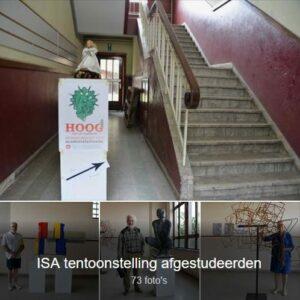 ISA tentoonstelling afgestudeerden